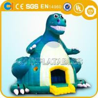 Quality inflatable dinosaur bounce houses,Giant inflatable dinosaur bouncy castles,Jumping castles wholesale