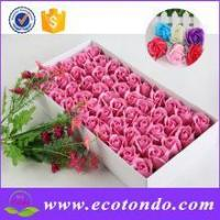 China valentine's day large artificial flower heads ,flower wrapping metarial wholesale on sale