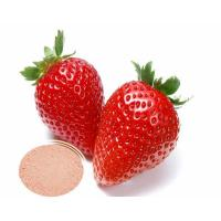 China Water Soluble Natural Best Quality Strawberry Freeze dried Extract Powder on sale