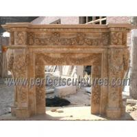 Mantels for stone fireplaces popular mantels for stone for Marble mantels for sale