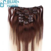 China China Factory Wholesale Clip In Hair Extentions Manufacturers Remy Human Hair on sale