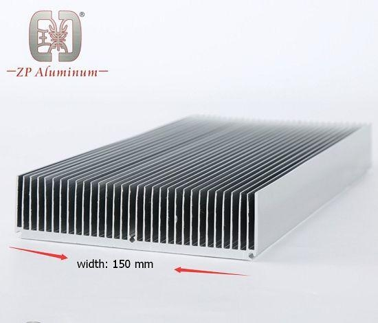 Cheap 150mm Extruded Aluminum Heat Sink Profile for sale