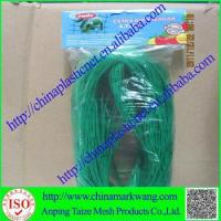 Quality plastic uv stablished BOPP diamond mesh HDPE anti bird net for agriculture wholesale