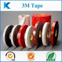 Buy cheap Acrylic Pressure-sensitive Adhesive 3M Double Sided Tapes from wholesalers