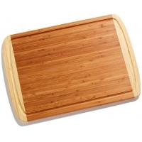 Quality Extra Large Organic Bamboo Thick Wood Cutting Board and Chopping Block with Juice Groove wholesale