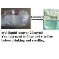 China High Purity Natural Anabolic Steroids , Anavar 20mg/Ml For Bodybuilder on sale