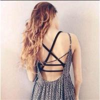 Quality Sexy Women Tank Padded Tops Caged Bra Cotton Vest Crop Top Summer Blouse wholesale