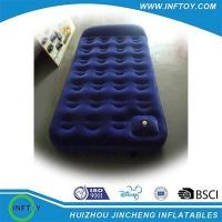 China single inflatable air mattress bed on sale