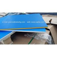Quality Dual color HDPE Plastic sheet for outdoor sign board wholesale