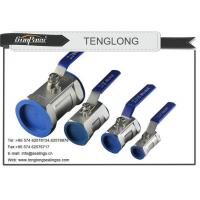 China One Way Stainless Steel Ball Valve on sale