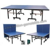 China Movable and Foldable Pingpong Table Table Tennis Table on sale