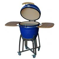 Buy cheap Auplex Quality Assurance Outdoor kitchen Ceramic Kamado Smoker from wholesalers