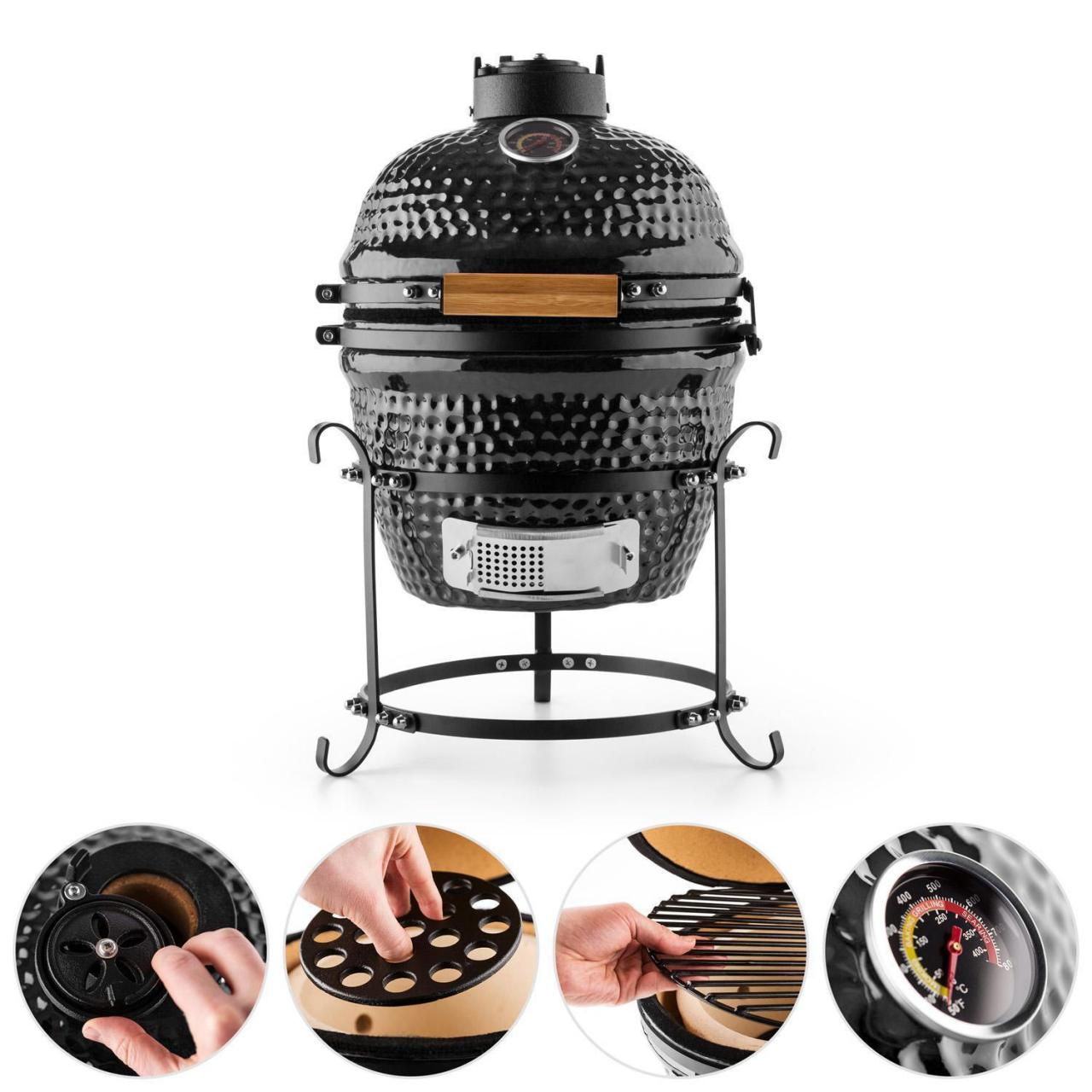 Buy cheap AUPLEX 13'' New Kamado Grill from wholesalers