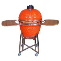 Buy cheap 21''orange ceramic grill kamado grill from wholesalers