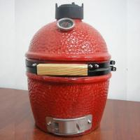 Buy cheap 13''kamado ceramic grill/table grill(RED) from wholesalers