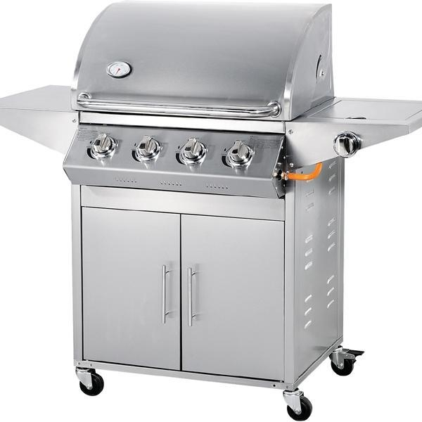 Cheap 4 burner 67000 BTU stainless steel gas barbecue grill for sale