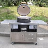 Quality ceramic grill/outdoor cooker/kitchenware/home stove/restaurant equipment/kamado grill AU-21S1 wholesale