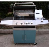Quality 4 burner gas grill with infrared burner wholesale