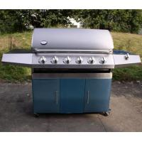 Quality 6 burners gas grill with cart wholesale