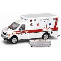 Quality Code 3 Chicago Ford E-350 Ambulance (12065) wholesale