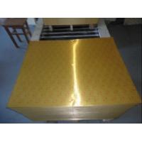 Quality Golden colored aluminium foil for airline trays wholesale