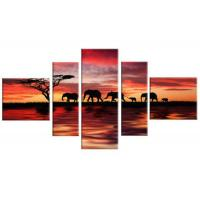 Quality Customized Small Canvas Wall Art Decoration Print with Your Photos Ready to Hang wholesale