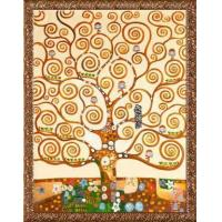 Quality Gustav Klimt Tree of Life Hand Painted Reproduction Oil Painting wholesale
