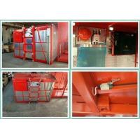 Quality Adjustable Speed Building Hoist Material Lift For Construction Overload Protect wholesale