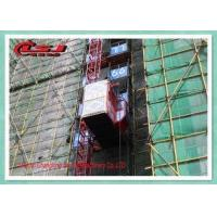 Quality High Duty Personnel And Materials Hoist / Construction Site Elevator 2 Ton Capacity wholesale