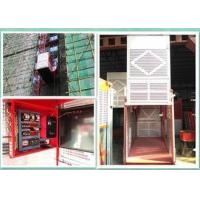 Quality Builders Personnel And Materials Hoist , Buck Man Material Lift For Construction wholesale
