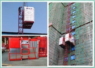 Cheap Twin Cages Passenger And Material Hoist Lifting Equipment For Construction Site for sale