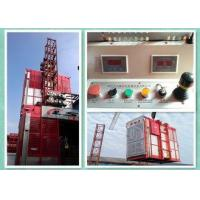 Buy cheap Industrial Construction Buck Hoist Elevator 2000kg Capacity With Anti-Falling Governor from wholesalers