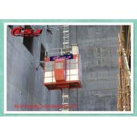 Buy cheap High Speed 0-96 m/Min Passenger Material Construction Site Lift With VFC Control from wholesalers