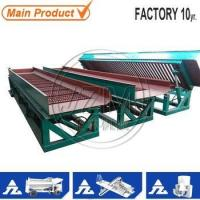 Buy cheap underflow sluice box gold mining equipment from wholesalers