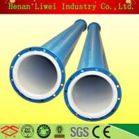 China Rubber lined pipe and pipe fittings High-quality PTFE-lined carbon steel pipe on sale