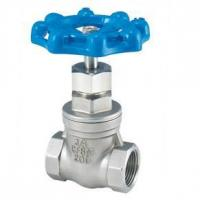 China The 3-way ball valve Stainless steel internal thread gate valves on sale