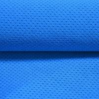 China T/C Polyester Cotton Bird Eye Knitted Weft high tenacity stretch Moisture Wicking Sport Fabric on sale
