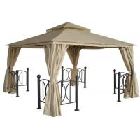 China 2016 Wrought Iron Gazebos For Sale Pavilion Garden Winds Gazebo on sale