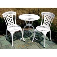 China Cheap Modern Outdoor Furniture Cast Aluminum Patio Table Chairs Set on sale