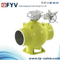 China Fully Welded Pipeline Ball Valves on sale
