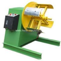 China Uncoiler Metal coil decoiling straightening and feeding machine on sale
