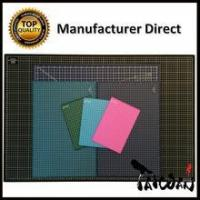 Quality Factory Direct rotating cutting mat self healing in sewing supplies with grade B materials 14 x 14 wholesale