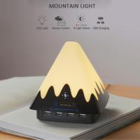 Buy cheap Best Design Colour Changing Bedroom Mood Lighting with 4 USB Charging Ports from wholesalers