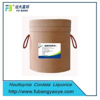 Quality Chinese Herbal Medicine Houttuynia Cordata Liquorice Extract wholesale