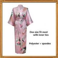Buy cheap wholesale supply satin floral silk Barth robe for ladies from wholesalers