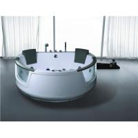 Quality Heart Shaped Whirlpool Massage Jets Bathtub with Pillow wholesale