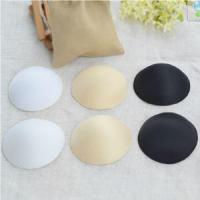 Quality White Soft Comfortable Bra Cups for Swimwear Bra Removable Pads Silicone Bra wholesale
