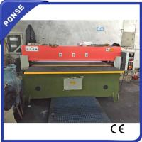 Quality 80 Ton EVA Plastic Insole Die and Luggage Bag Cutting Fabric Roll Machine for Export wholesale