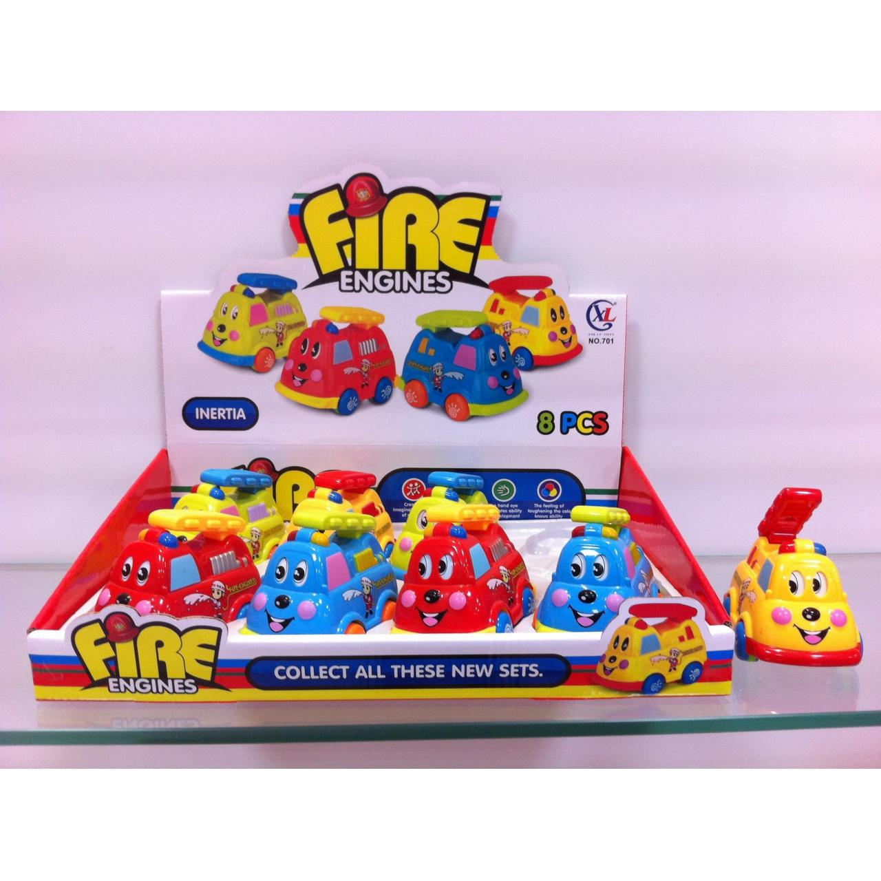 Buy cheap Friction Cartoon Series Friction cartoon fire fighting truck product