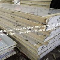 Quality Fireproof Cold Room Panel And Insulated PU Sandwich Panels For Cold Storage To Keep Fresh wholesale